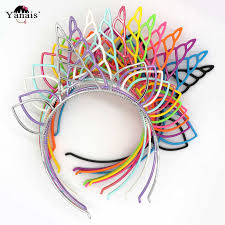 <b>1pcs Kids Unicorn Party</b> Pompom Hair Bands Accessories Hairband ...