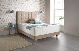 colours for a bedroom: relyon beds home restyler featuring earthborn claypaint in piglet