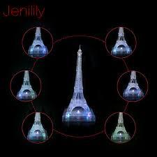 Jenilily <b>JN9035A</b> Newly design DIY Funny Eiffel Tower <b>3D Crystal</b> ...