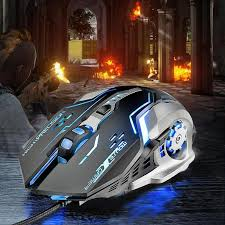 ALLOYSEED <b>G815 Gaming Mouse 3200DPI</b> 6 Buttons LED ...