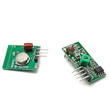 433 мгц радиочастотный передатчик и приемник и ...