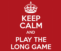 Image result for playing the long game gif