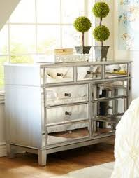 hayworth mirrored silver dresser added drama mirrored bedroom furniture