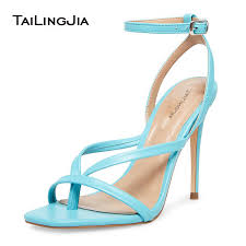 Blue High Heel <b>Sandals 2020 Womens</b> Heeled Thong <b>Sandal</b> ...
