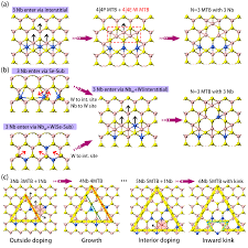 Niobium doping induced mirror twin boundaries in MBE grown ...