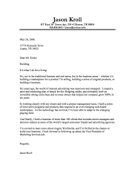 cover letter format creating an executive cover letter samples cover letter format internet advertising a838