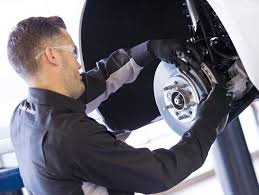 tulsa chevrolet service south pointe chevrolet service technician changing brake pads