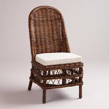 cuhsion arm chair rattan dining so when i discovered the jayden rattan chairs also from world market