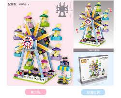 <b>LOZ Mini Blocks</b> City Creator Series Doll Machine Ferris Wheel ...