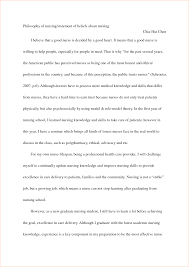 nurse mission statement examples nursing graduate school personal uploaded by adibah sahilah