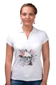 Рубашка Поло <b>Череп</b> #2311708 за 1 350 руб. в Москве - <b>Printio</b>