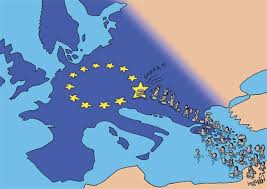 Image result for migrants in europe