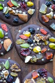 These Dark Chocolate <b>Detox Bites</b> are packed with assorted dried ...
