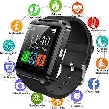 <b>New</b> Smartwatch Bluetooth <b>Smart</b> Watch <b>U8</b> For iPhone IOS Android ...