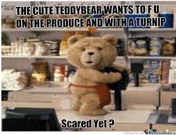 The Cute Teddy Bear by aaronrodgers12 - Meme Center via Relatably.com