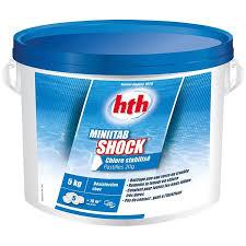 <b>HTH Minitab</b> 20g <b>Shock</b> | <b>HTH</b> | Pool Chlorine - C-Piscine