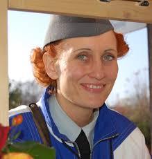 Als «Soldatenmutter» verstärkte Karin Baschung die Compagnie 1861, die Teilnahme am Pistolenschiessen war für sie natürlich Ehrensache! - 17_KarinBaschung_g
