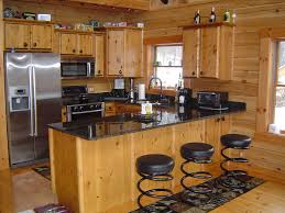 log kitchen ideas homes