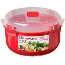 <b>Контейнер</b> для микроволновой печи Sistema <b>Microwave</b> Round ...