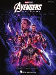 Нотное издание <b>Avengers</b> - <b>Endgame</b> автора Alan Silvestri