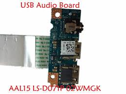<b>Laptop USB Audio Board for</b> DELL I 15 3559 5559 P51F AAL15 LS ...