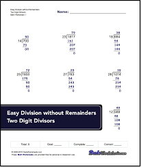 easy-two-digit-divisiors-without-remainders-v1.jpgLong Division Worksheets