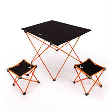 Portable Foldable Garden Sets 1pc Table +<b>2pcs Chairs</b> Camping ...