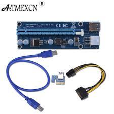 FUERAN PCIe <b>VER 006C</b> 16x к 1x адаптеру <b>адаптера</b> питания с ...