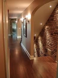 basement stairwell lighting basement stairway lighting