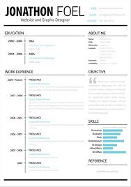 Free Word Document Resume Templates  resume word doc  good     Designzzz