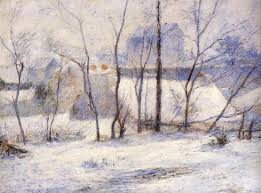 <b>Winter Landscape</b>, 1879 - Paul Gauguin - WikiArt.org