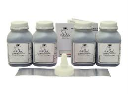 4 Laser Toner Refills for use in <b>HP</b> CF217A (17A), CF230A (30A ...