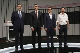 Resultado de imagen de el debate a cuatro