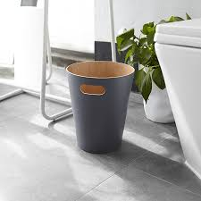 <b>Корзина для мусора Woodrow</b> серая от Umbra (арт. 082780-618 ...