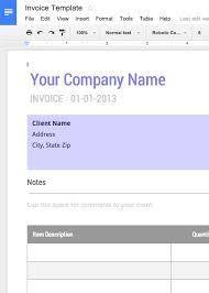 Free Invoice & Timesheet Templates - Cashboard Free Blank Invoice Template - Google Docs