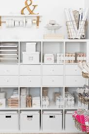 office tour rebecca ashby of the pink orange stationary chic home office white
