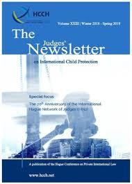 Judges' Newsletter - HCCH