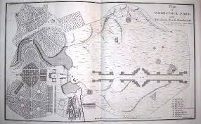 Small Picture Original Landscape plan of Blenheim Palace by Lancelot Capability