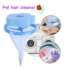 <b>Floating Pet Fur Catcher</b> Reusable <b>Hair</b> Remover Tool <b>for</b> Washing ...