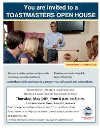 open house manteca toastmastersmanteca toastmasters open house flyer 2015 05 14