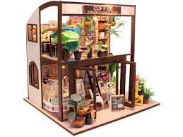 <b>Конструктор DIY House Coffee</b> M027 9-58-011380 | fondim27.ru