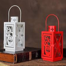 Retro Edition <b>Iron</b> Material Christmas Candlestick Christmas <b>Styles</b> ...