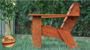 Make a Simple Outdoor <b>Chair</b> with Limited Tools - DIY <b>Pallet Wood</b> ...