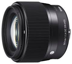 <b>Объектив Sigma</b> 56mm f/1.4 DC DN Contemporary <b>Sony E</b> ...