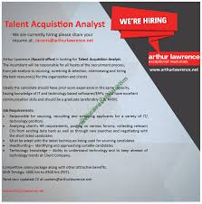 arthur lawrence jobs apply online jobs vacancy in arthur lawrence jobs 2016 apply online