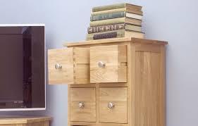 oak dvd storage 10 drawer chest see more mobel oak at big blu mobel solid oak dvd