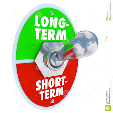 long term goals clipart  long vs short term toggle switch more time investment