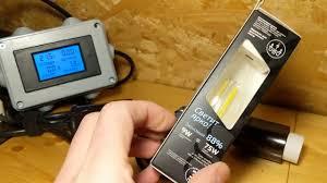 Экспресс-тест <b>лампы Gauss</b> 104801209 LED <b>Filament Свеча</b> на ...