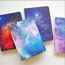 """""""<b>Stars</b> Come"""" <b>1pc</b> Luxury Hard Cover Diary Lined Journal Planner ..."""