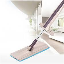 Flat <b>Mops</b> Floor <b>Cleaning Mop</b> For <b>Bucket</b> Dust Hand Free Wringing ...